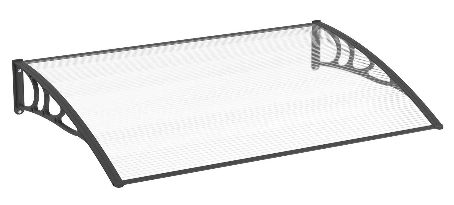 pultbogenvordach 1200x800 mm schiebet ren profi. Black Bedroom Furniture Sets. Home Design Ideas