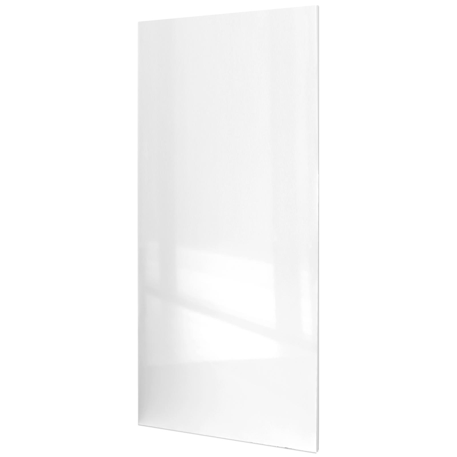 holzschiebet rblatt alpinwei hochglanz 755x2035mm schiebet ren profi. Black Bedroom Furniture Sets. Home Design Ideas