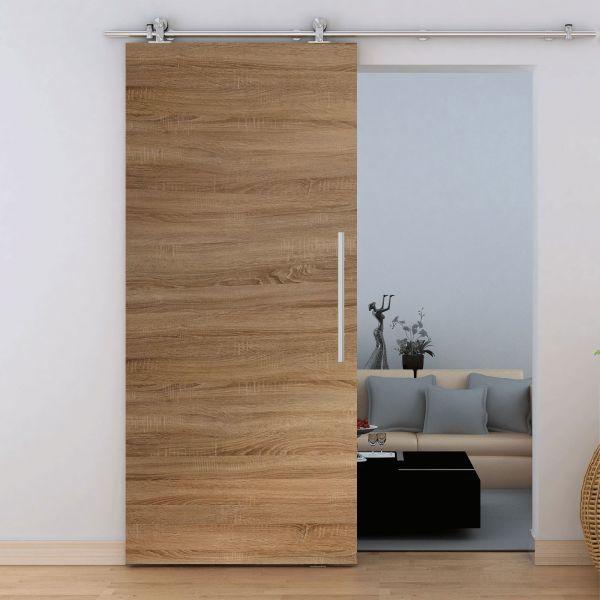 holzschiebet r wildeiche 900x2065mm schiebet ren profi. Black Bedroom Furniture Sets. Home Design Ideas