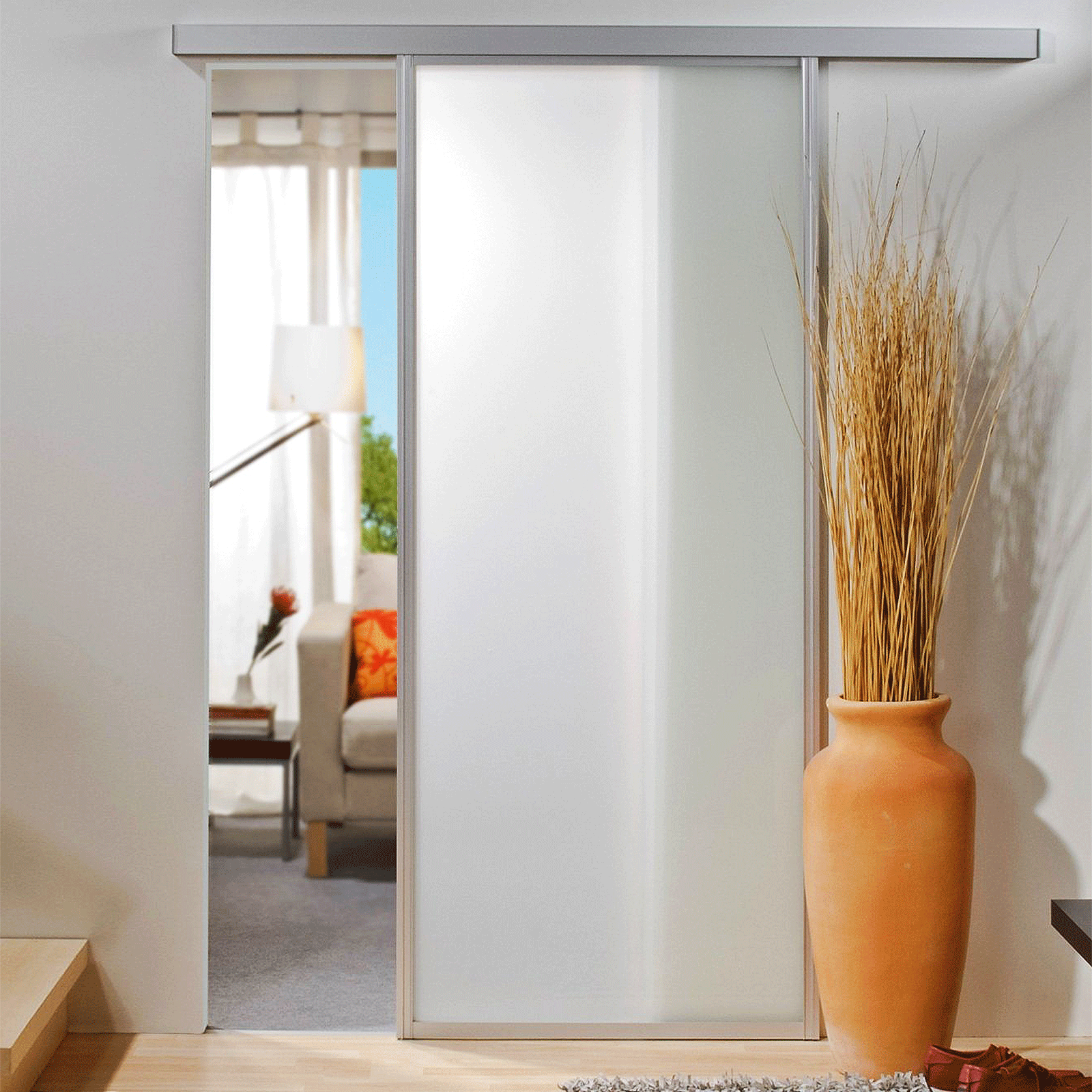 gerahmte schiebet r mit f llung aus holz oder glas 1 4 fl gel schiebet ren profi. Black Bedroom Furniture Sets. Home Design Ideas