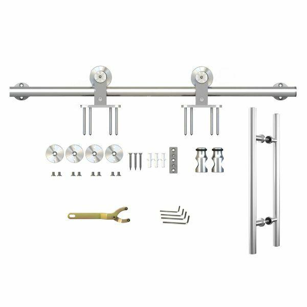 Laufsystem für Schiebetüren, Edelstahl, 2000mm