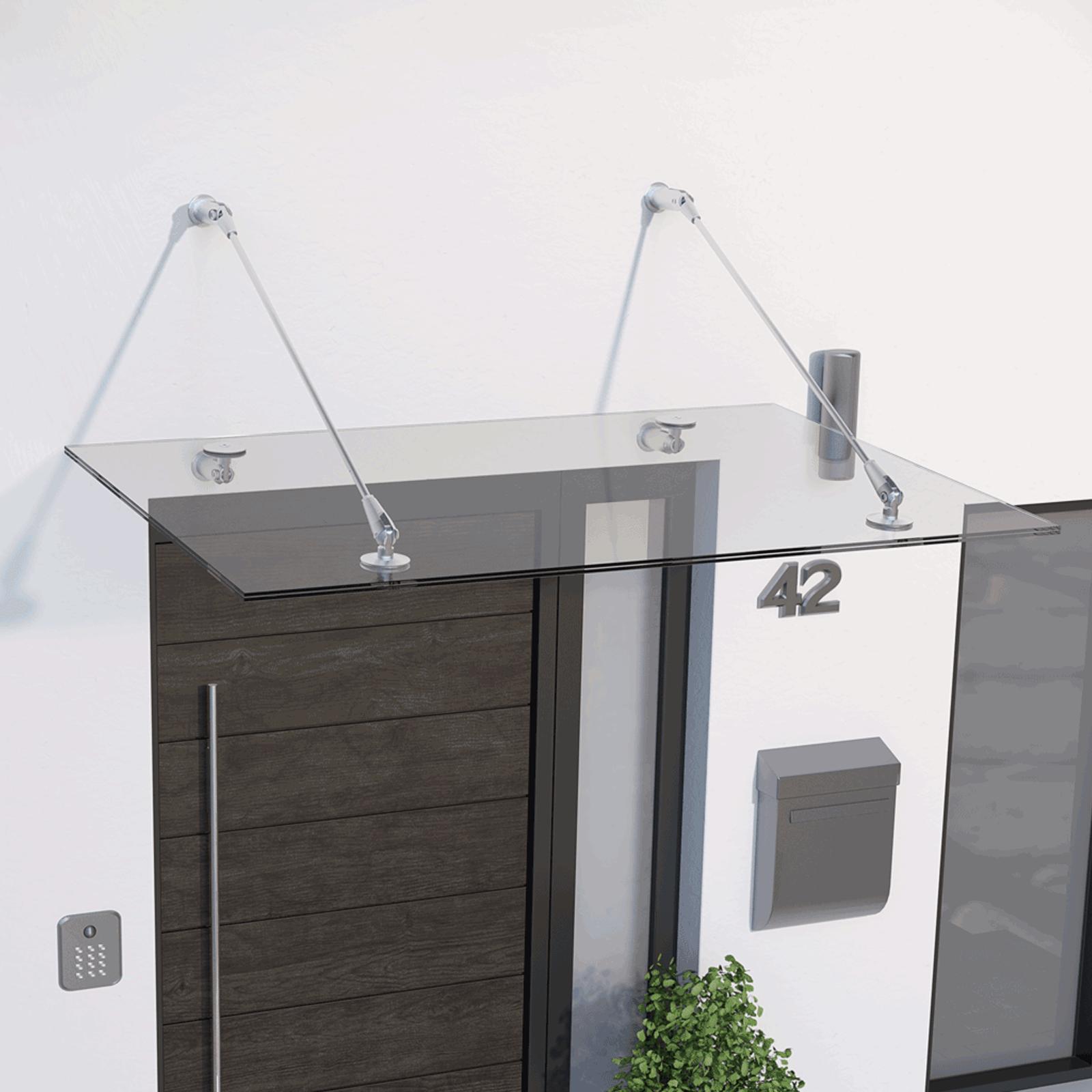 glasline davita pultvordach 1400x900 mm schiebet ren profi. Black Bedroom Furniture Sets. Home Design Ideas